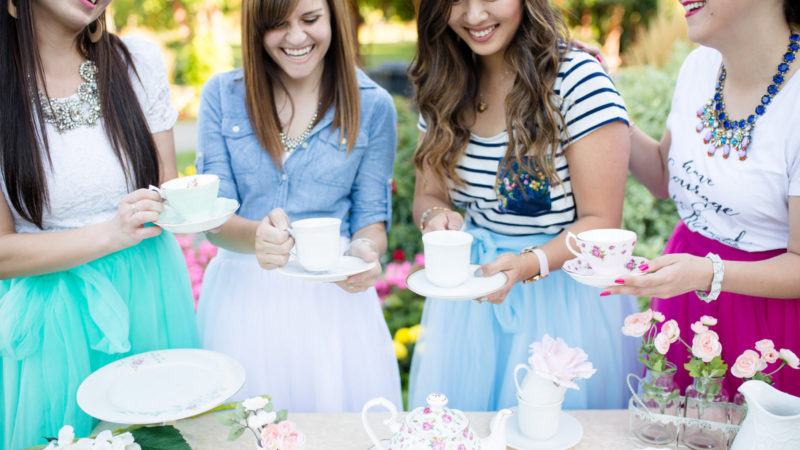 Tea Party in Tulle