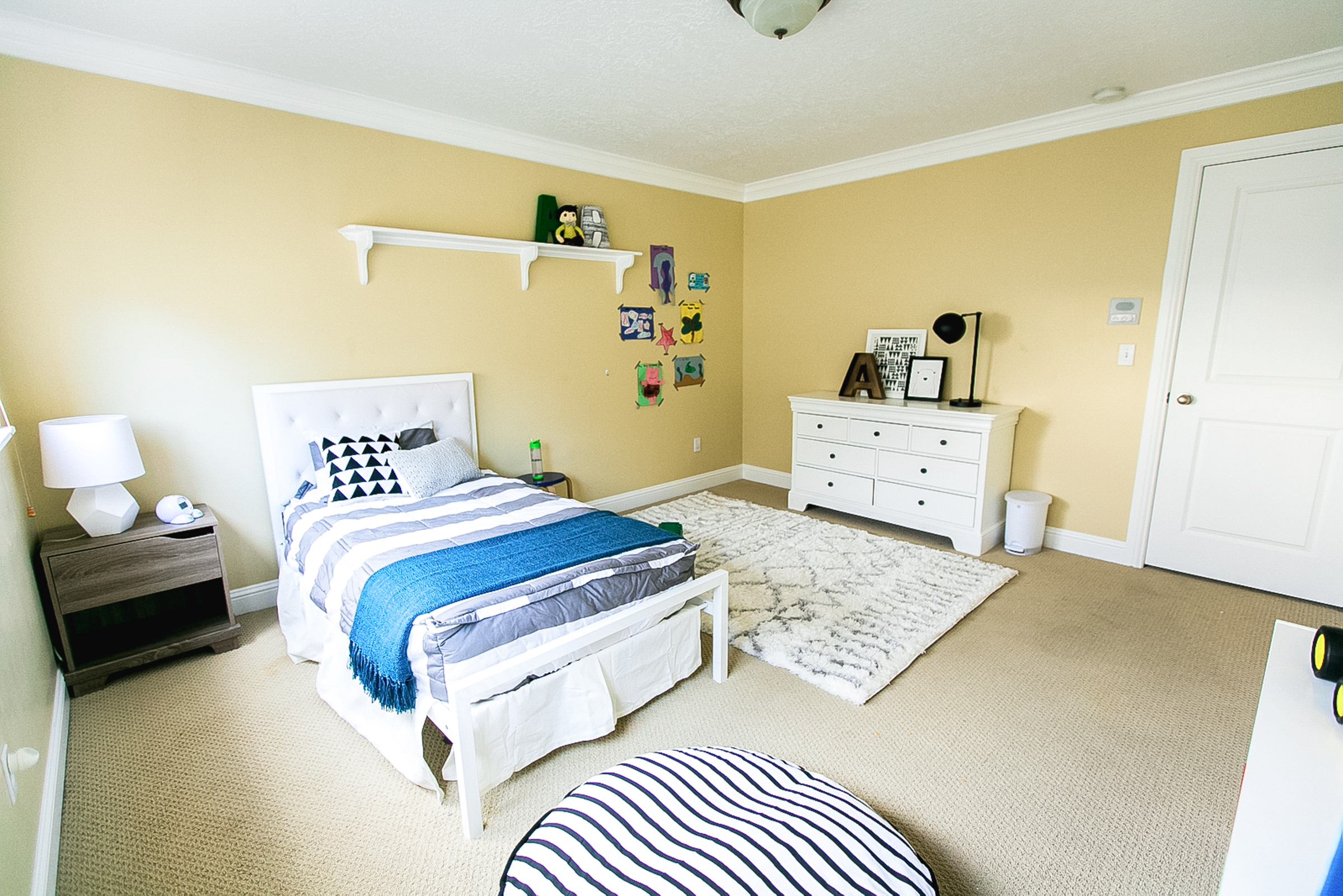 Boy's Bedroom with Havenly 4