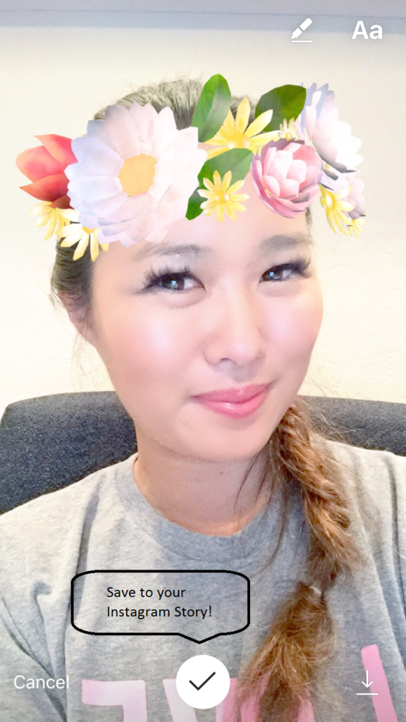 How to get Snapchat filters on your Instagram stories