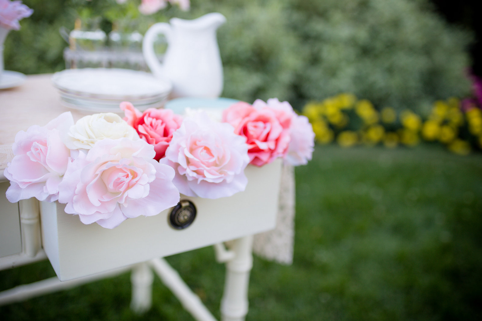 Tea party florals