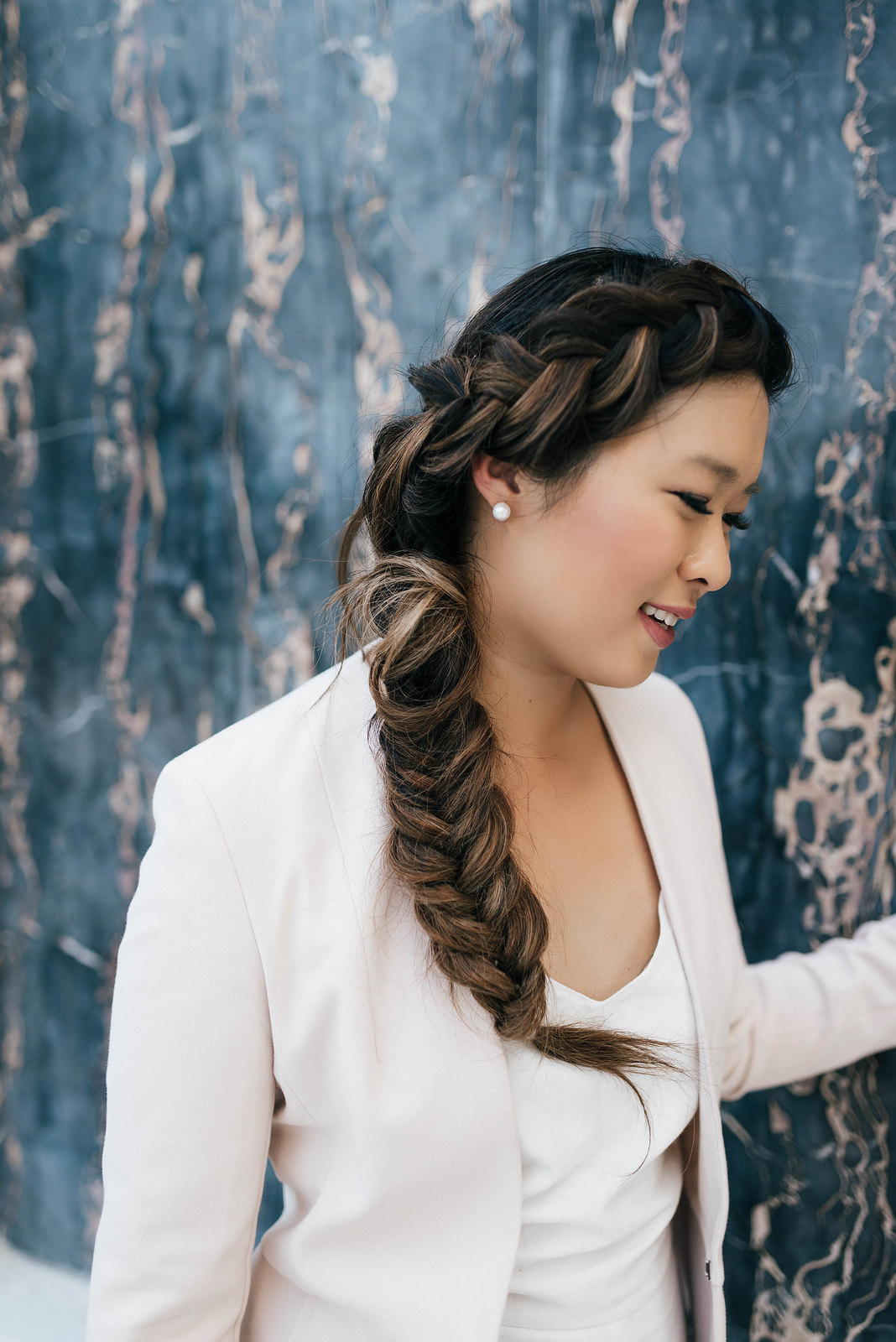Braided hairstyle by Tanglez Hair and Makeup