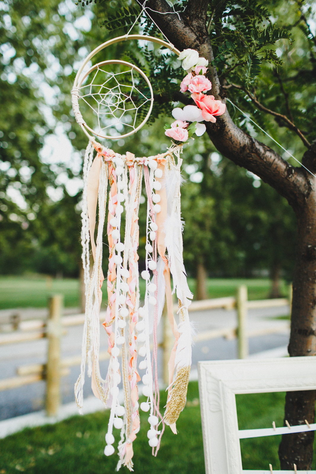 Dreamcatcher at Boho Birthday party - Photo by Summer Nicole Photo