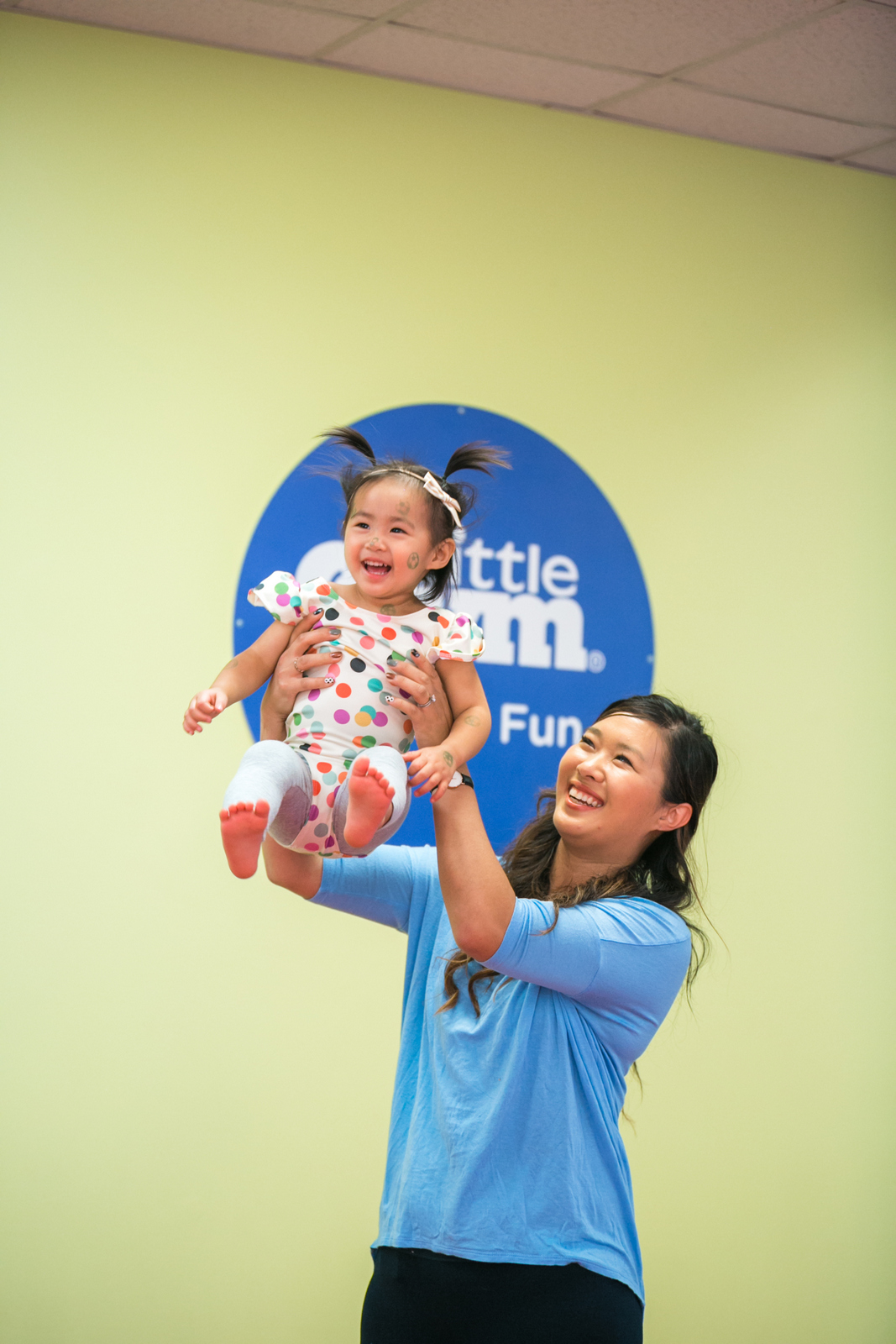 Get your toddler moving at The Little Gym
