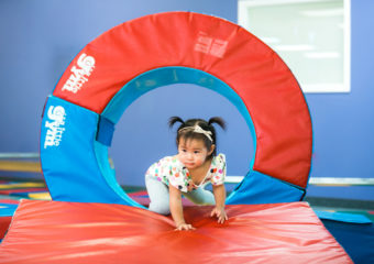 Get Your Toddler Moving At The Little Gym!
