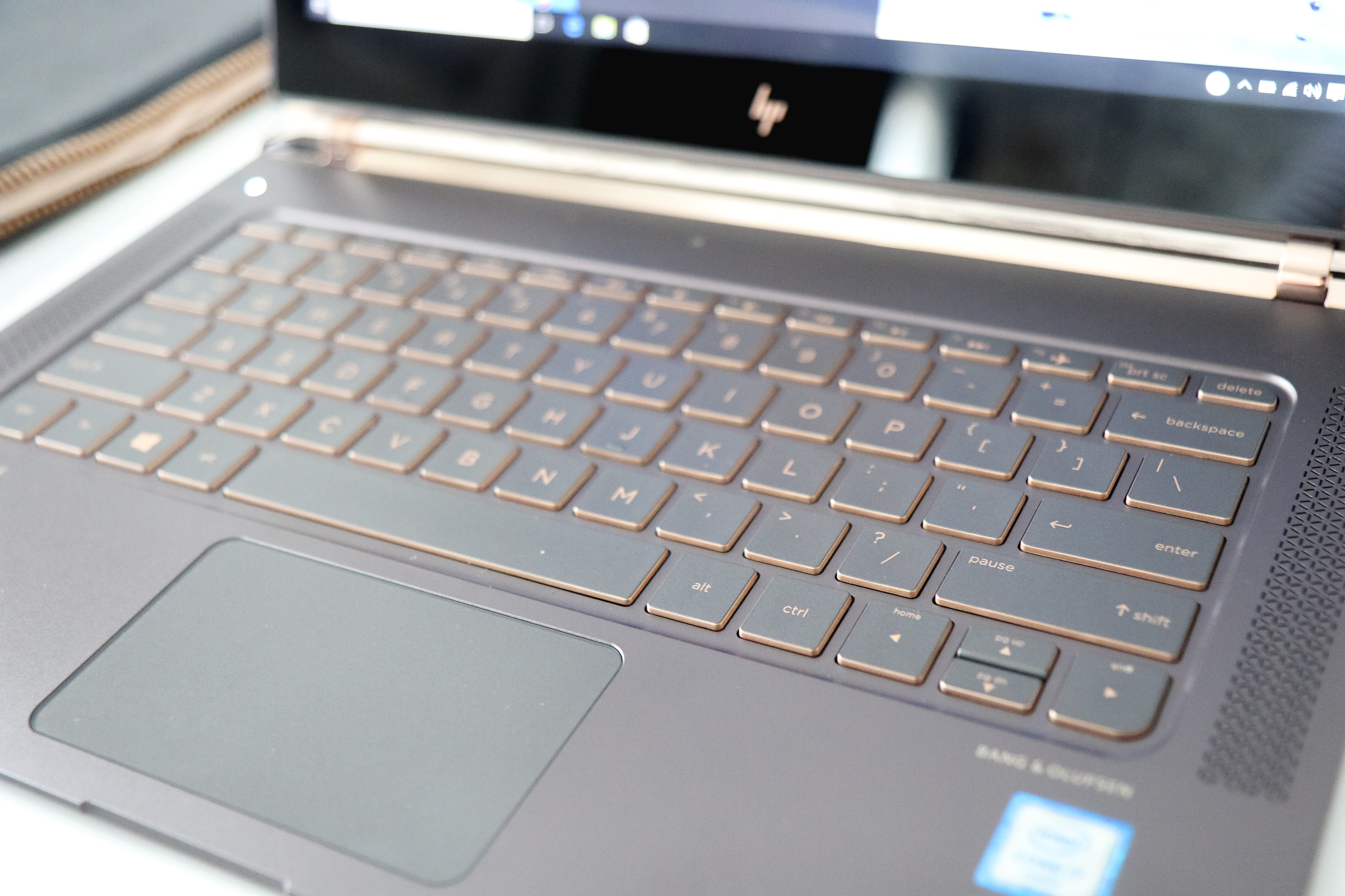 HP Spectre laptop details