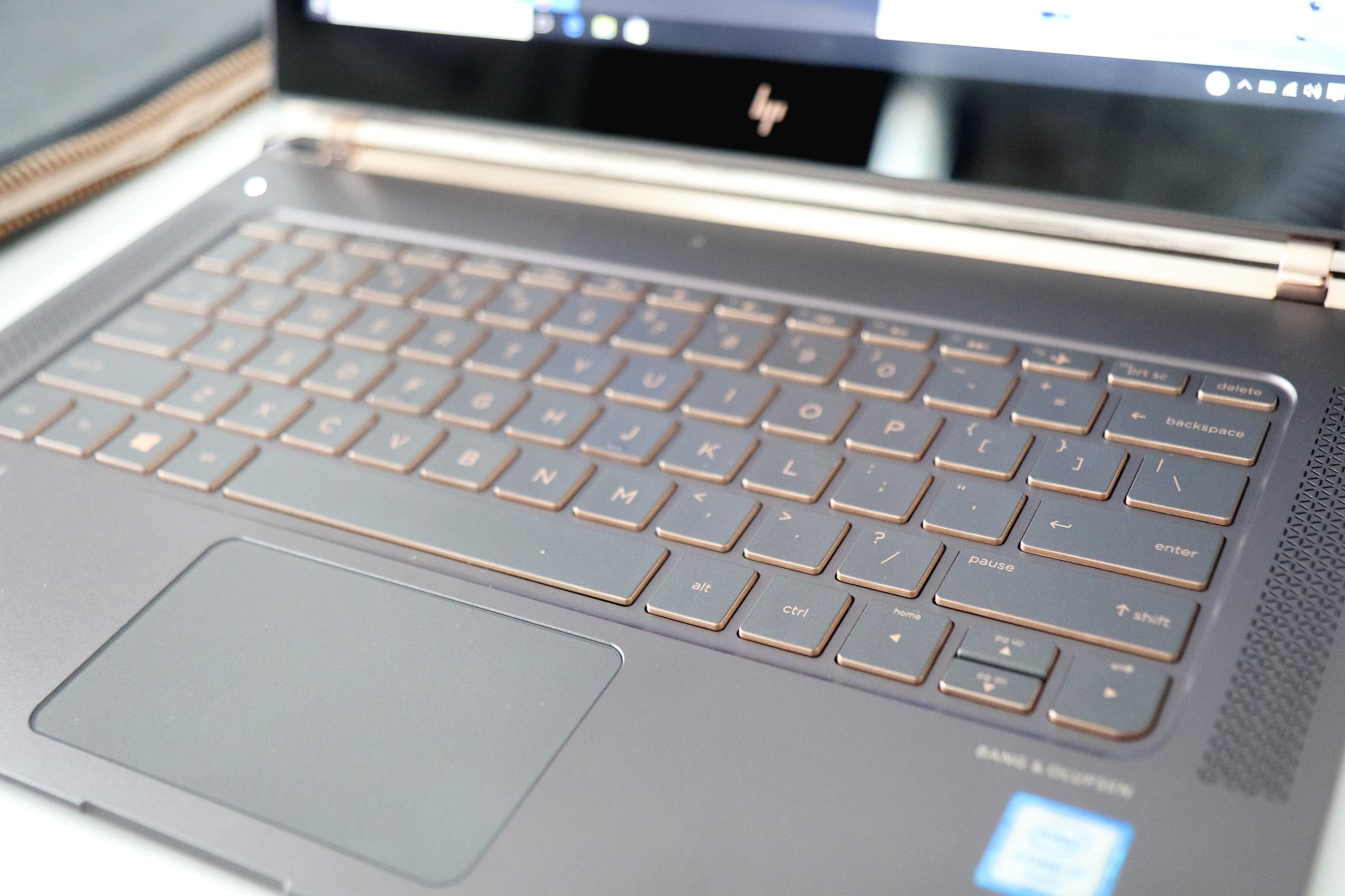 HP Spectre laptop details