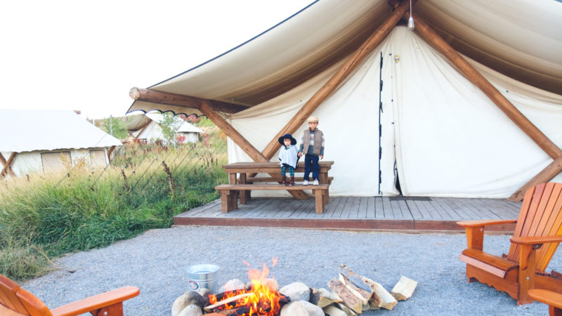 10 Reasons To Take Your Family Glamping! | Conestoga Ranch at Bear Lake
