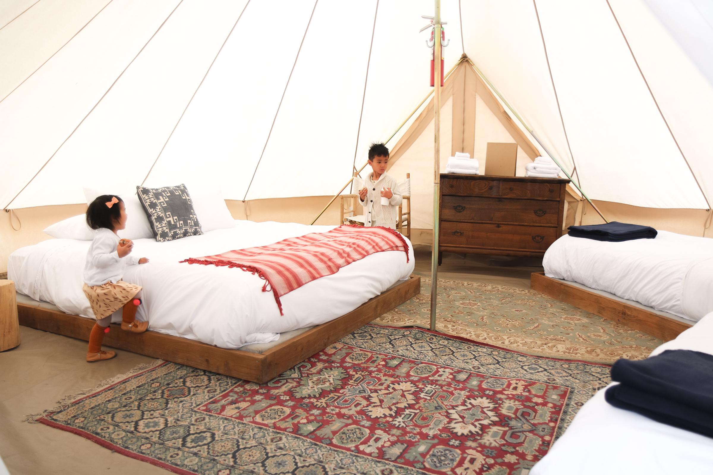 Tent at Conestoga Ranch