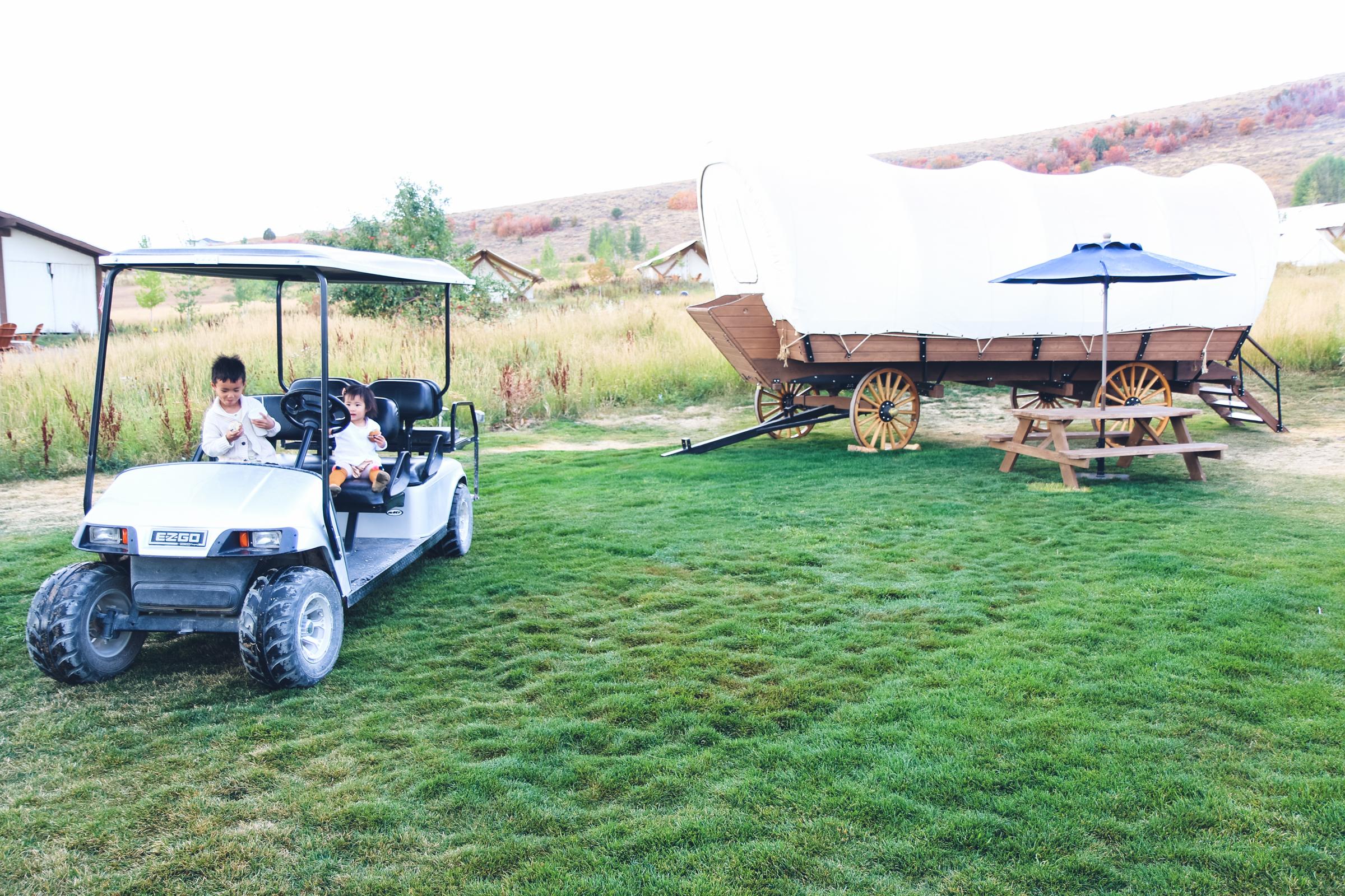 Covered Wagon at Conestoga Ranch