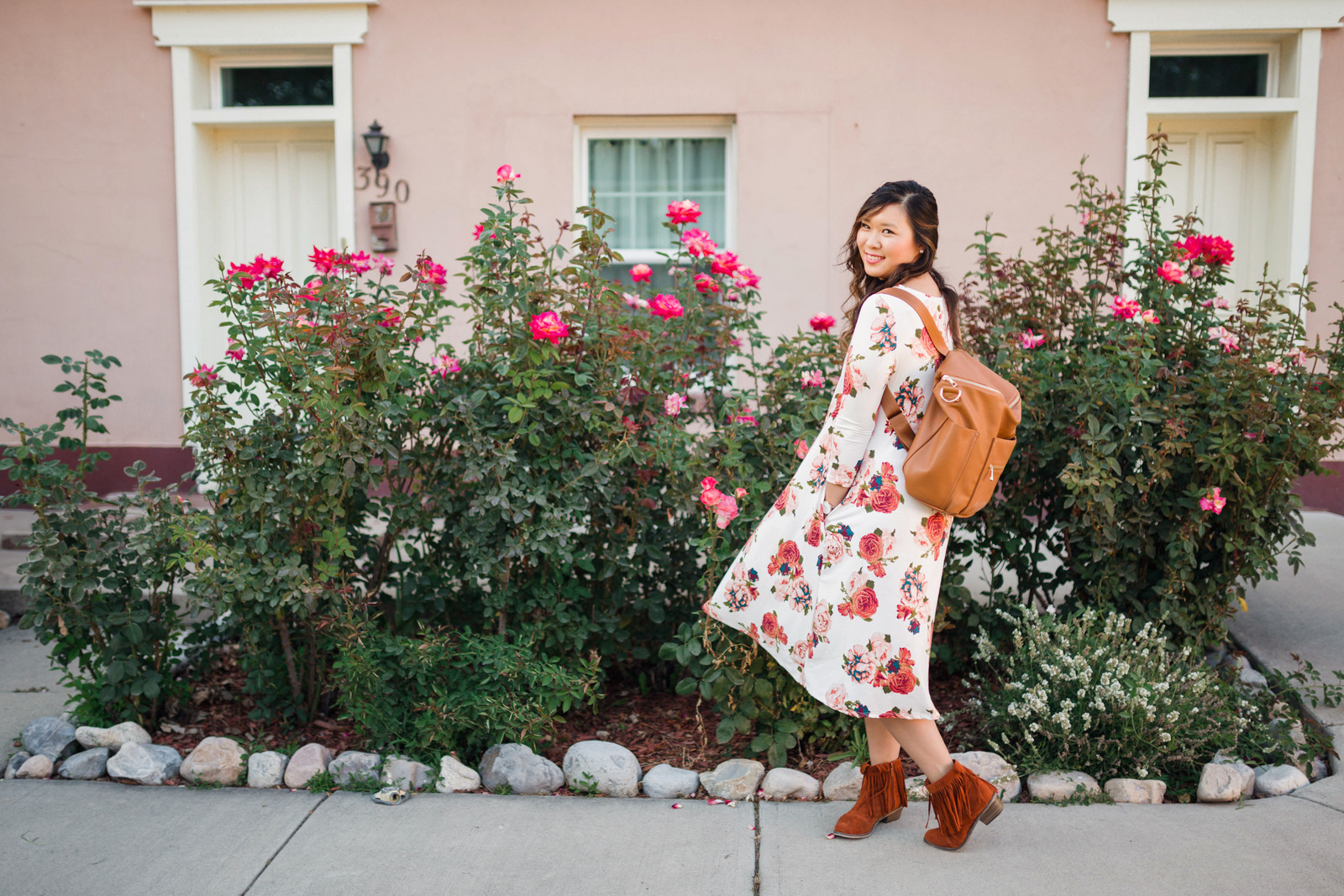 Cents of Style floral dress