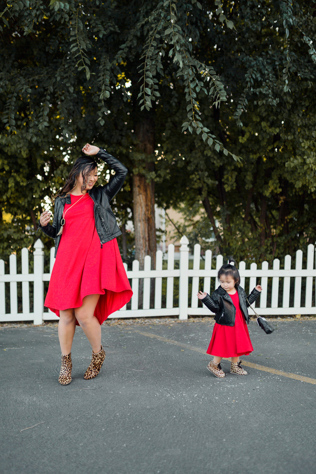 Mommy and Me outfits  red 3bb530c87