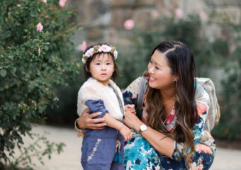 Mommy + Me Outfits: Blue Hues Outfit Ideas + Linkup!