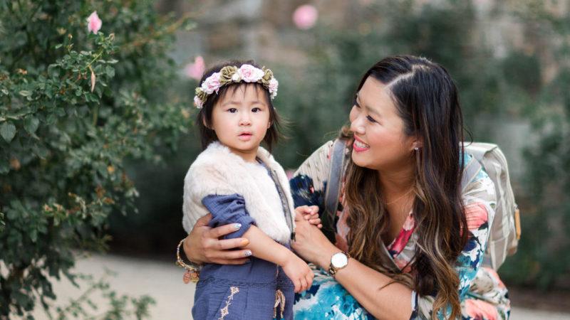 Mommy + Me Style: Blue Hues + Linkup!