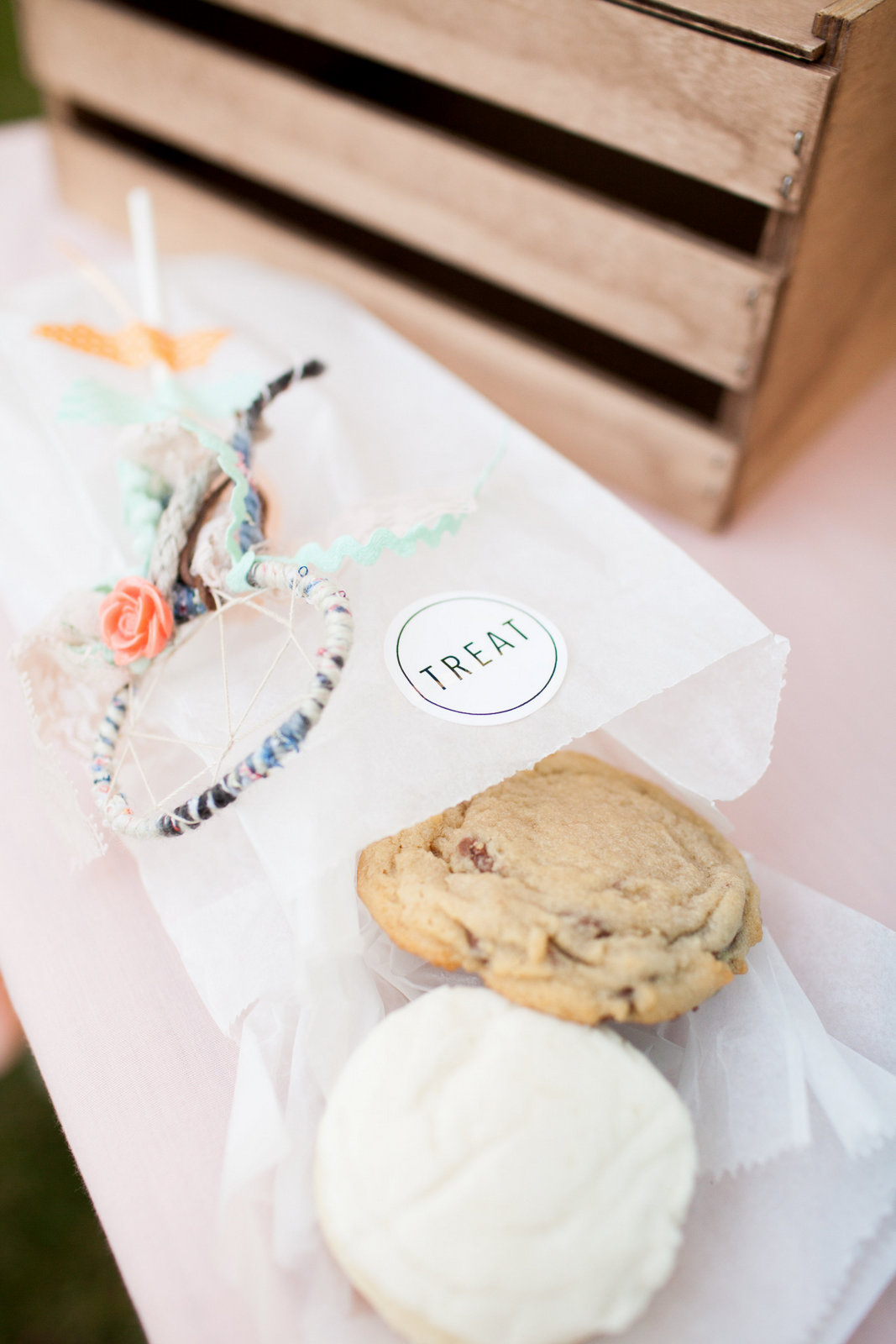 Favor Bags from Treat Cookies - Photo by Pierson Photo Company