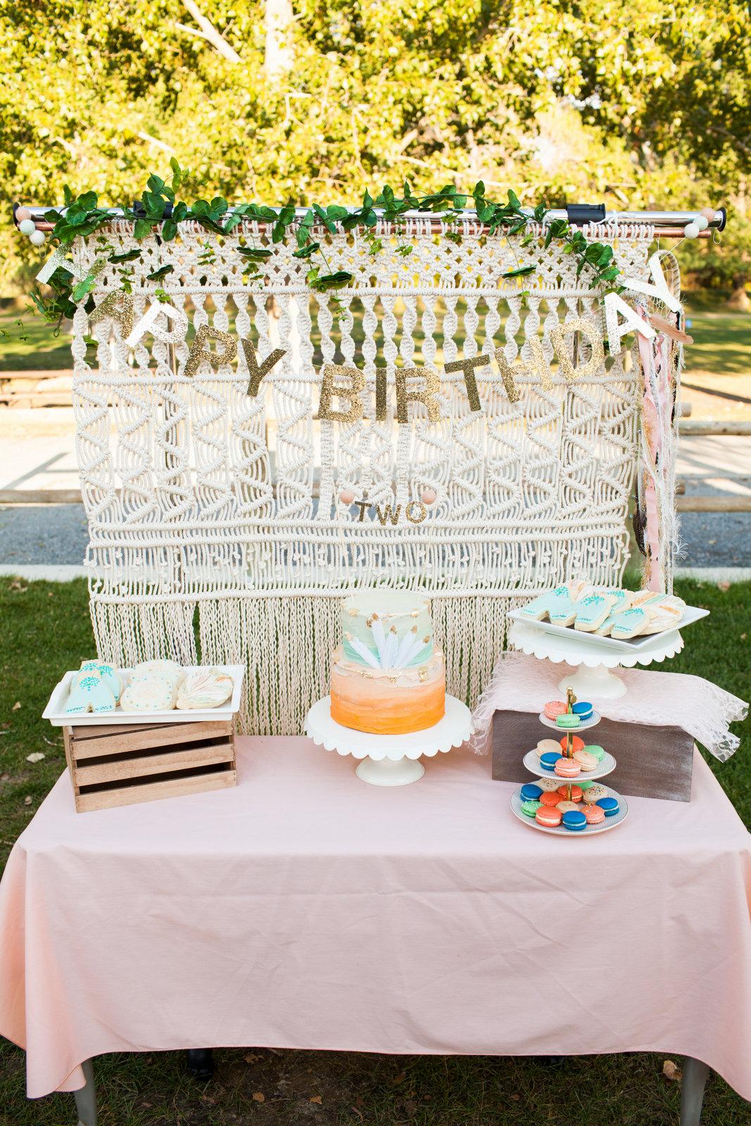 Boho birthday bash - Photo by Pierson Photo Company