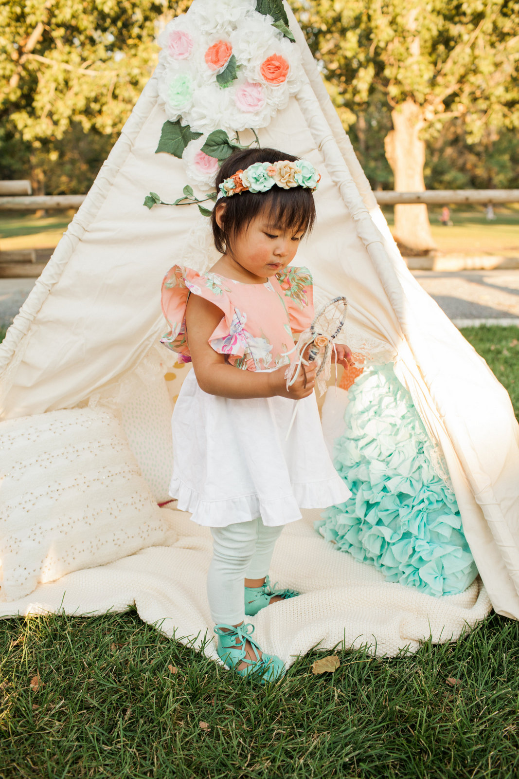 Vivian's 2nd Boho Birthday Party - Photo by Pierson Photo Company