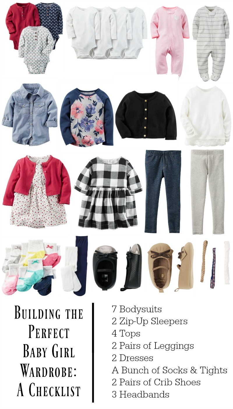 building the perfect baby girl wardrobe with carters
