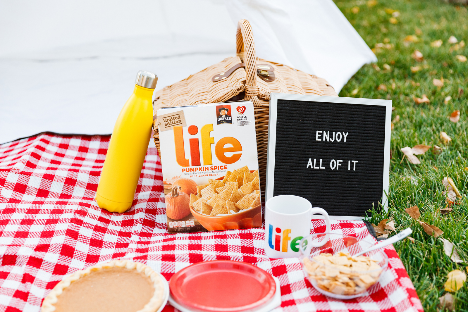 Life Cereal: Enjoy all of it