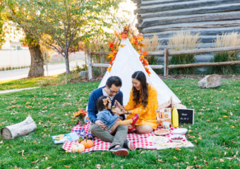 A Little Fall Family Picnic (And A How To)!