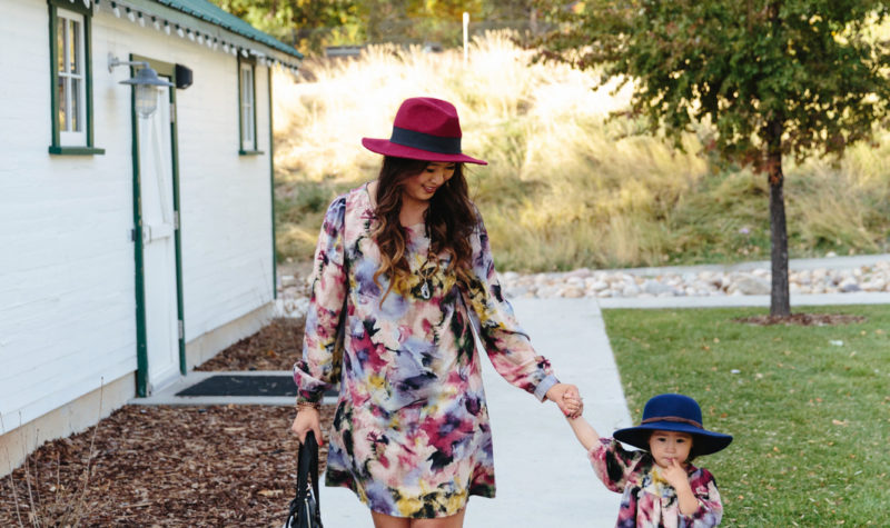 Mommy and Me Style: Watercolor Dresses