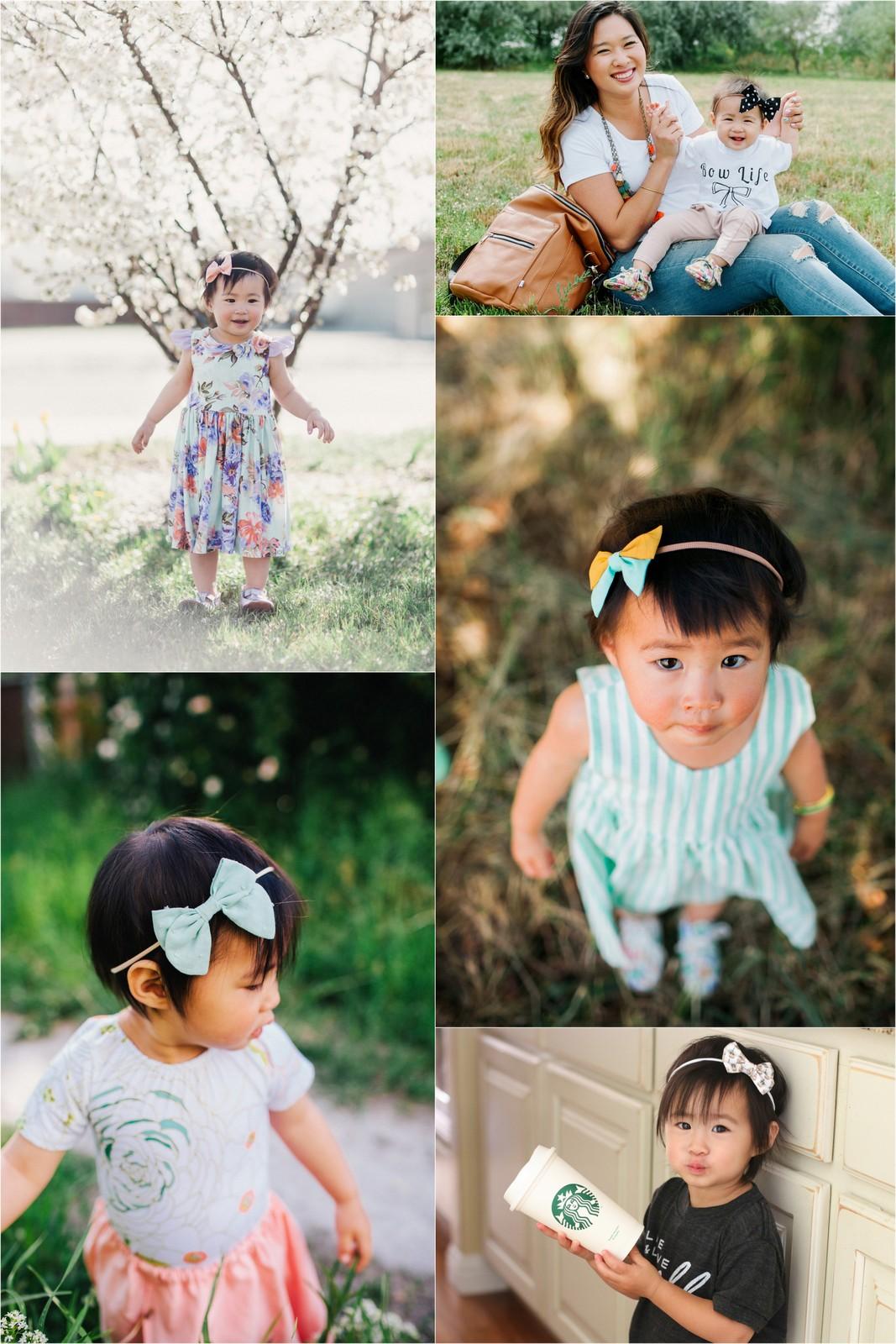 girl air accessories: bows