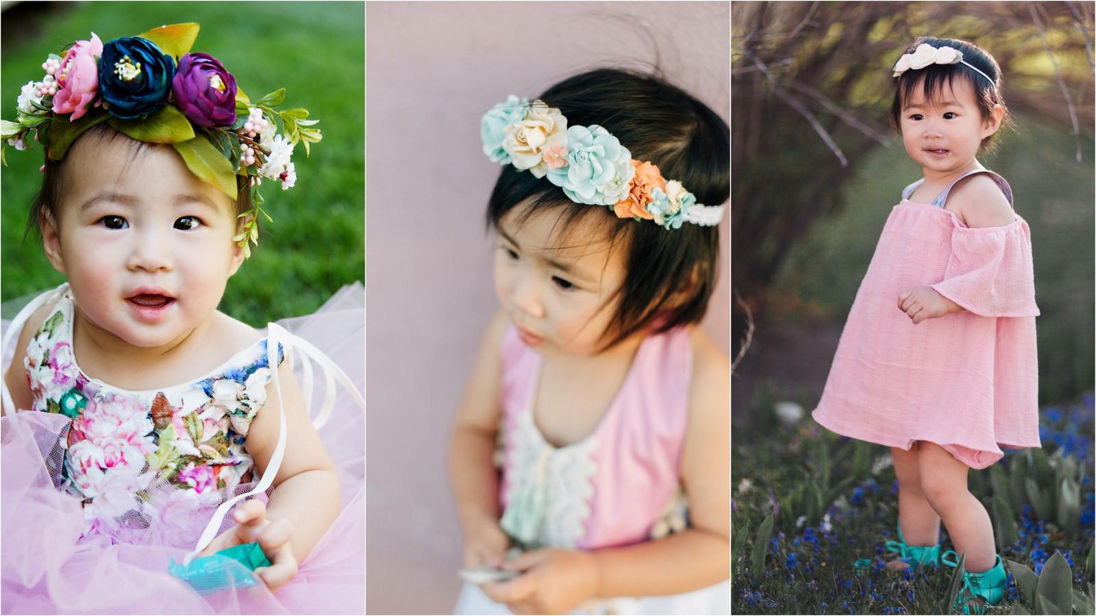 girl air accessories: flower crowns