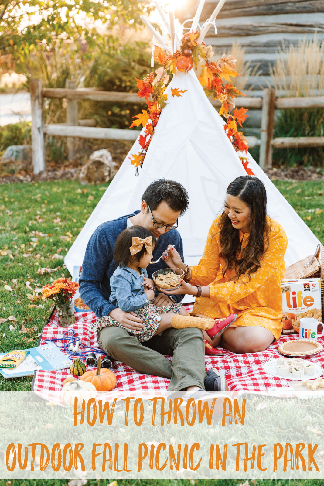 How To Throw An Outdoor Fall Picnic In The Park