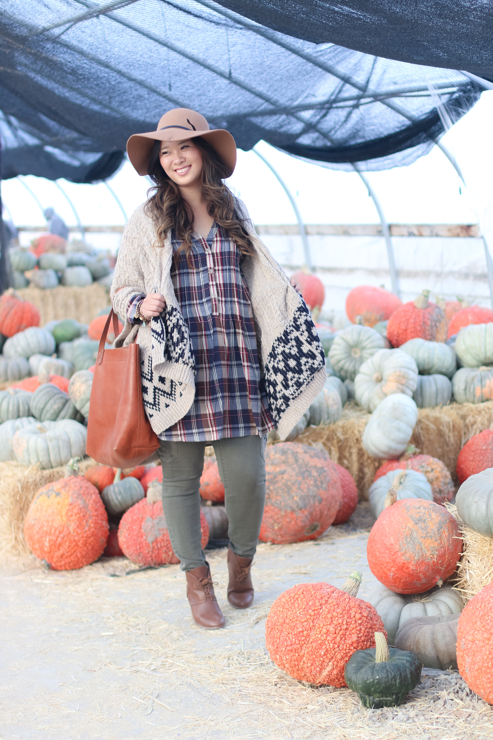 Plaid and Ponchos