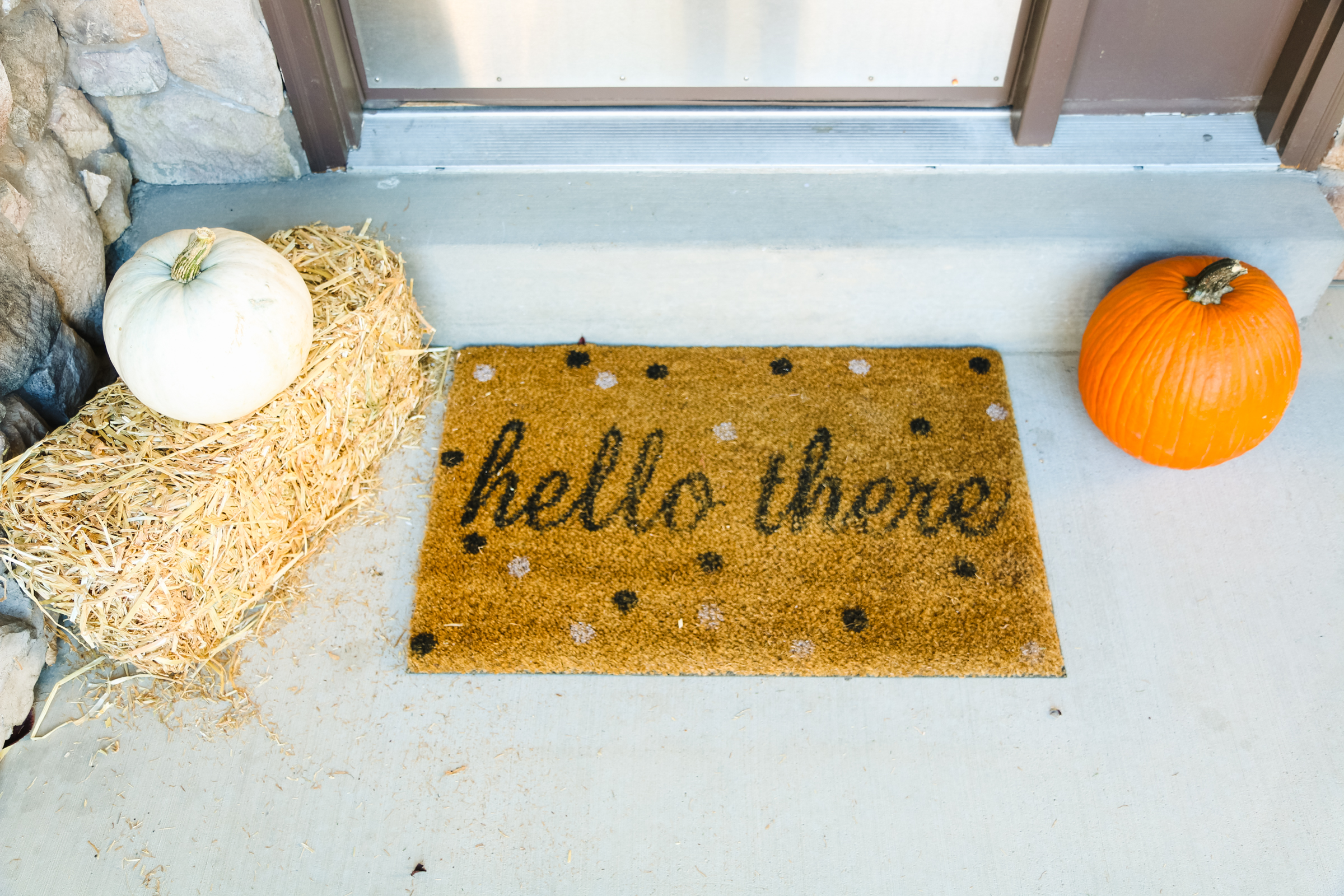 Our Fall Front Porch Decor