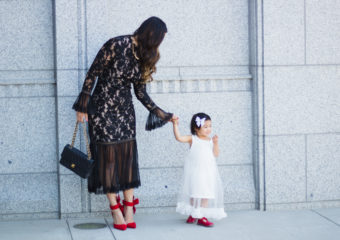 Mommy and Me Outfits: Fancy Dresses + Linkup!