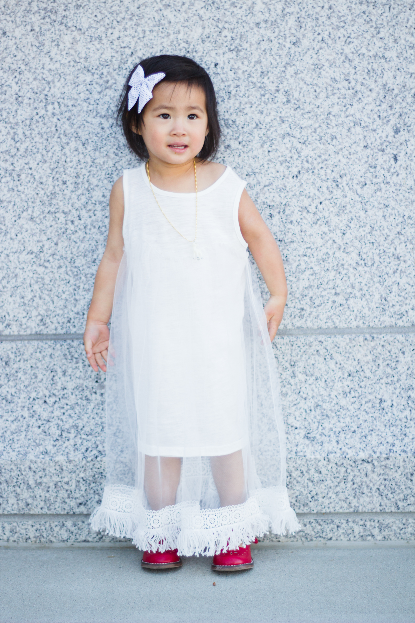 7f2899239f0 White toddler dress ...