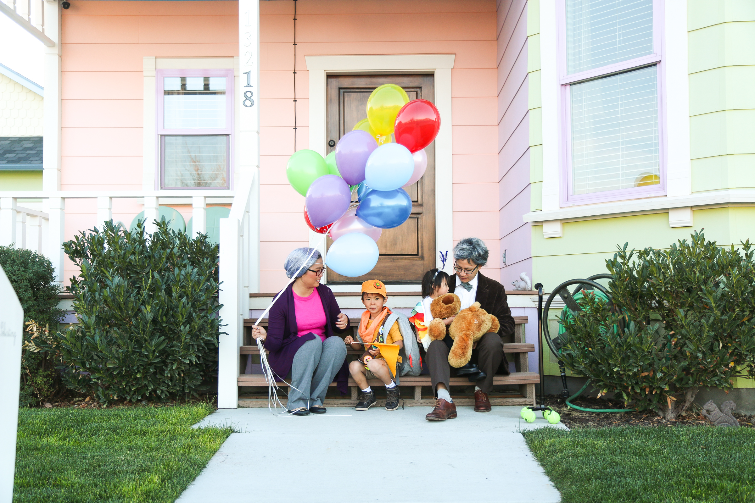 Family Up Halloween Costume