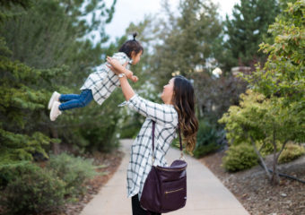 Mommy and Me Old Navy Style + Linkup!