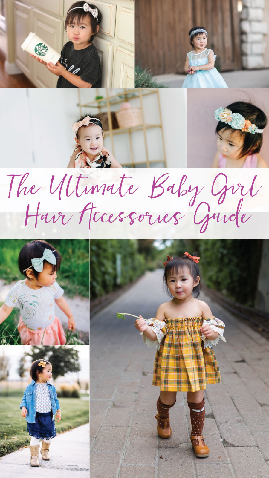 The ultimate baby girl hair accessories guide