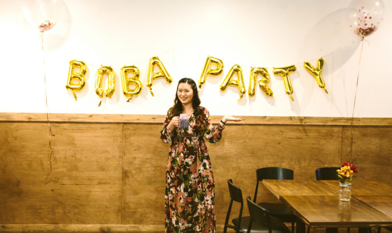 My Boba Tea Birthday Party!