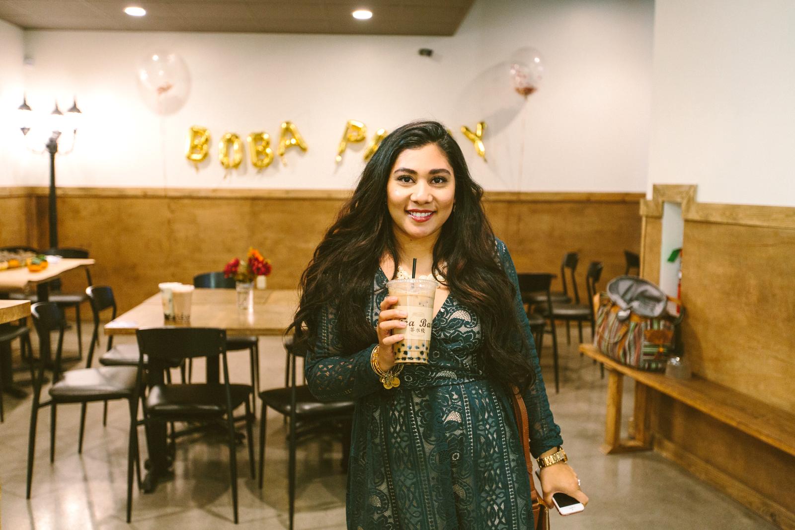 Bubble Tea in Salt Lake City at Tea Bar