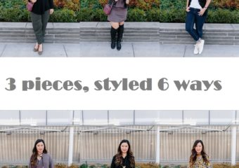 3 Pieces, Styled 6 Ways with Thacker + Linkup!