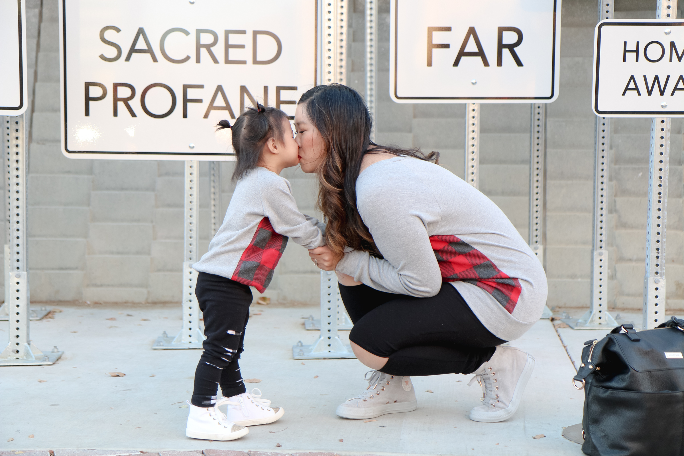 Mommy and Me Kiss