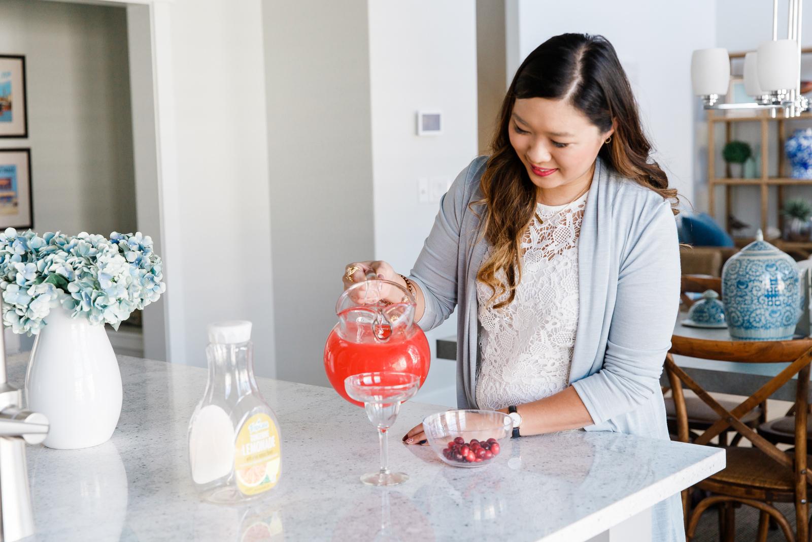 Vodka Cranberry Lemonade Cocktail