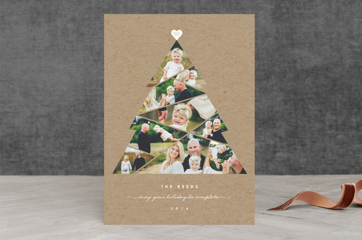 Minted Complete Tree Holiday Card