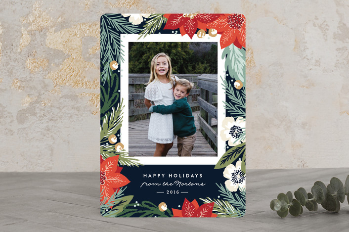 Minted Winter Botanicals Holiday Cards