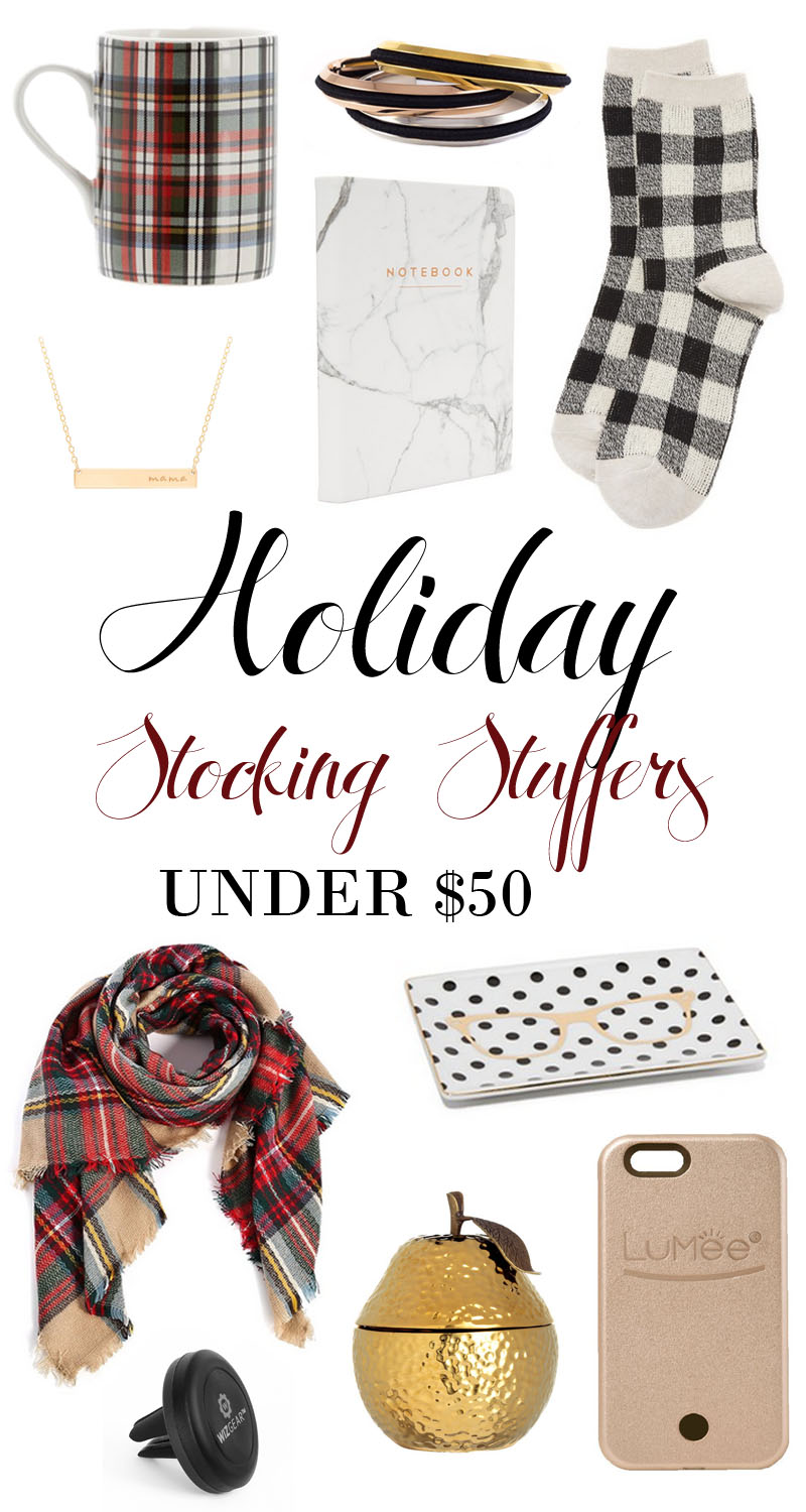 Holiday Stocking Stuffer Gift Guide Under $50