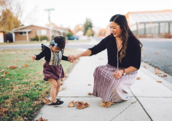 Mommy and Me Style: Crushing on Mauve Velvet + Shopbop Sale Details