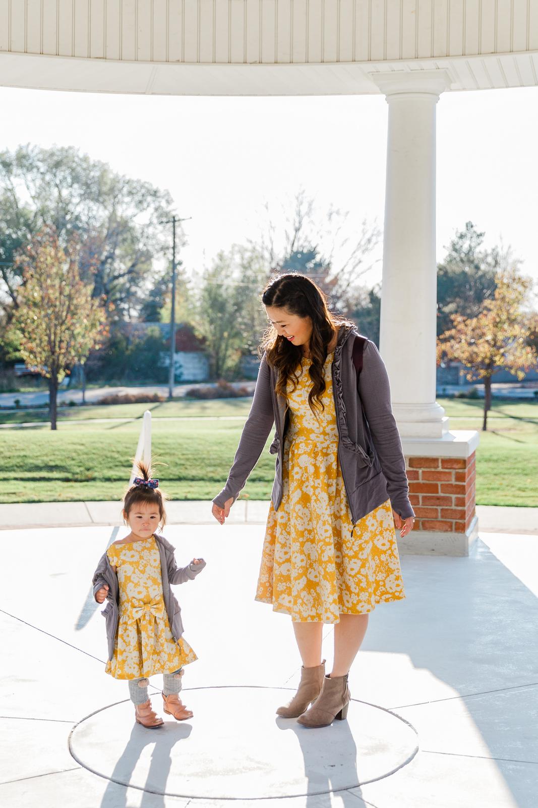 JUNIEblake yellow floral dresses