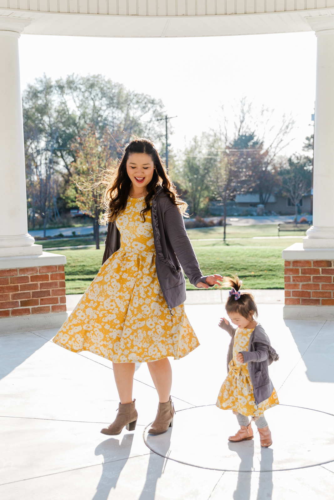 524a1b7119ed Evy s Tree Brilla in Slate Pin this image on Pinterest. JUNIEblake yellow  floral dresses ...
