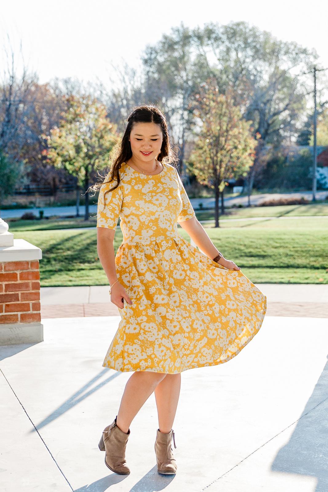 JUNIEblake floral dress