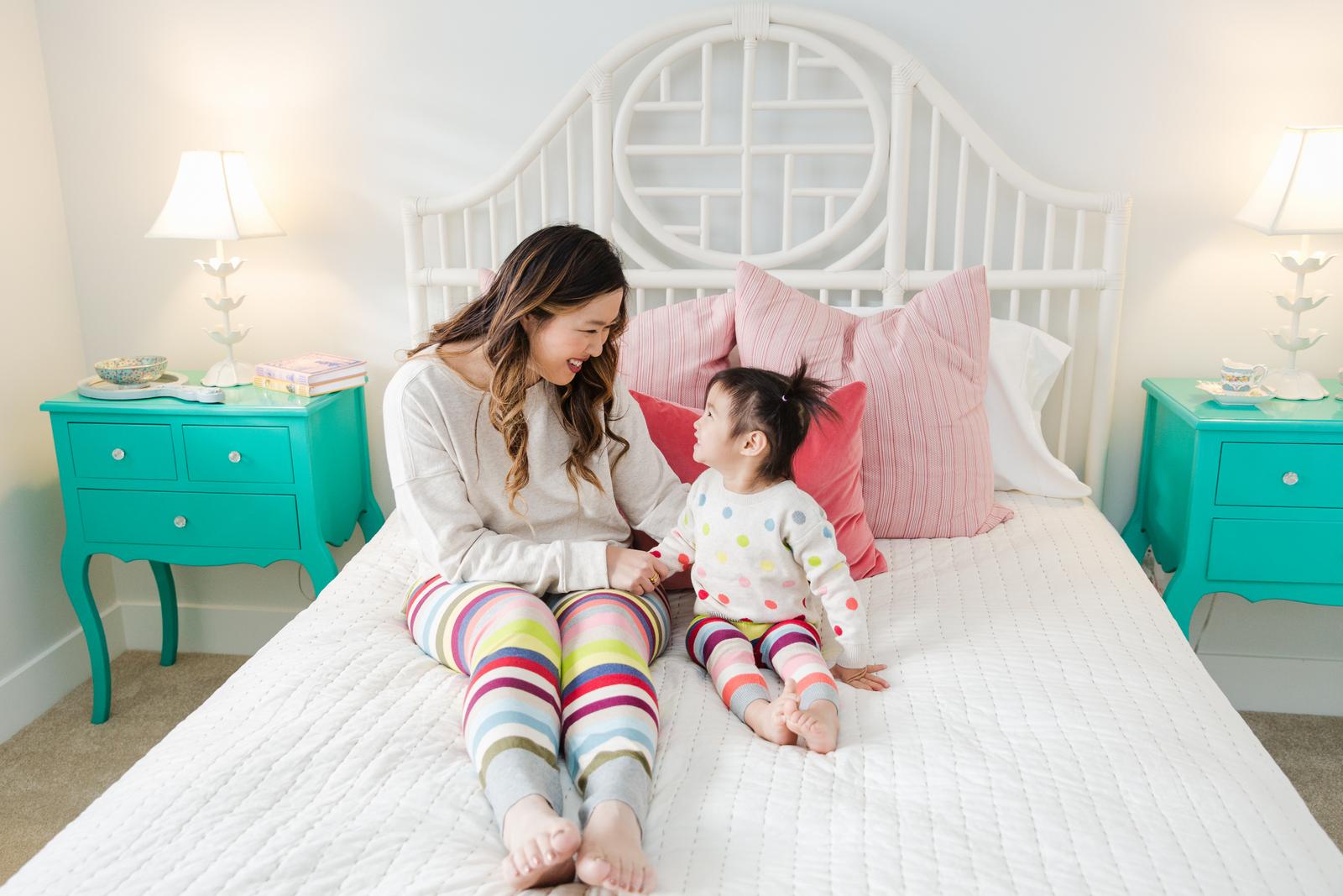 GAP sweater leggings: Mommy and Me loungewear