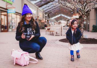 Mommy + Me Style: Graphic Sweatshirts + Linkup!