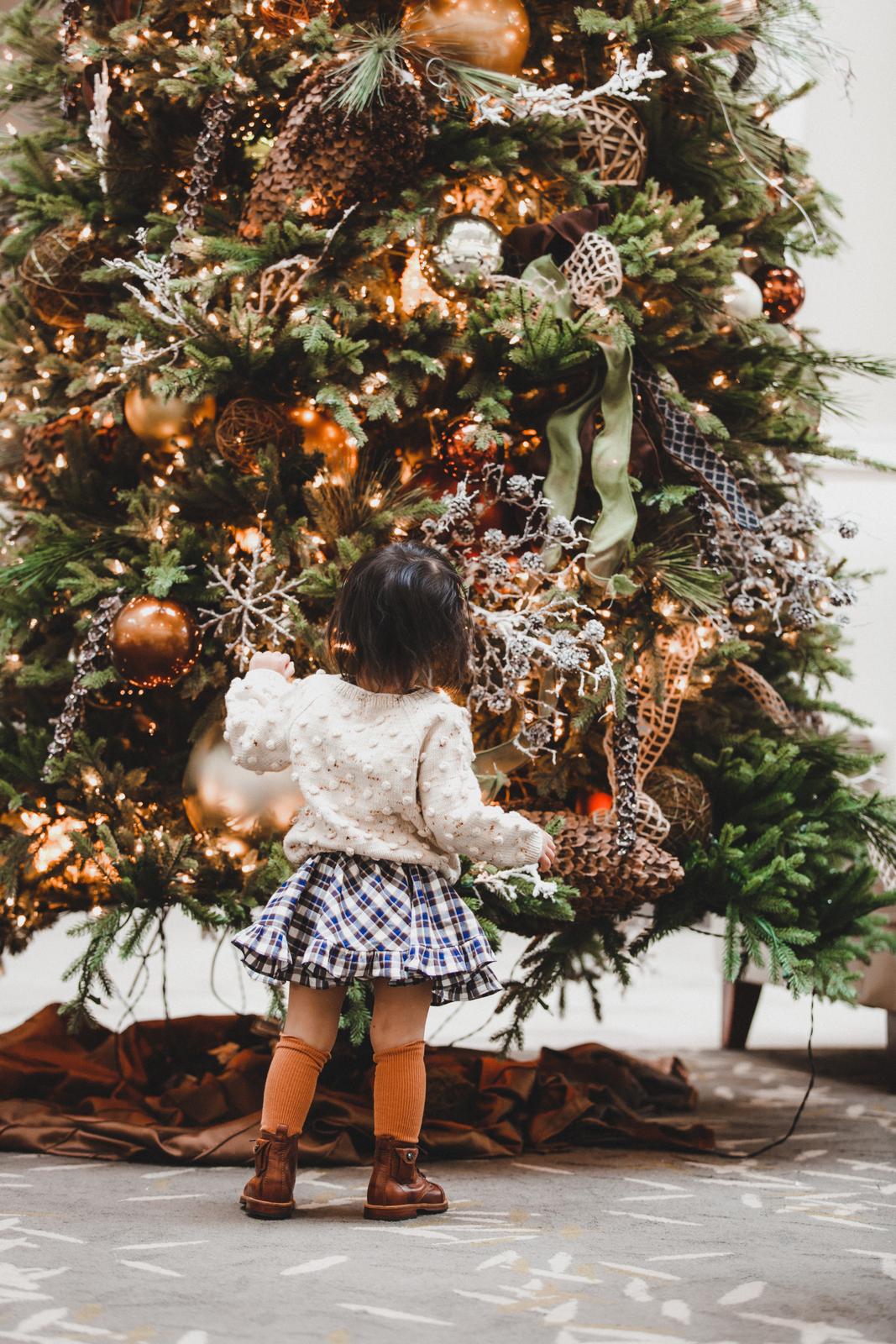 Toddler girl winter style