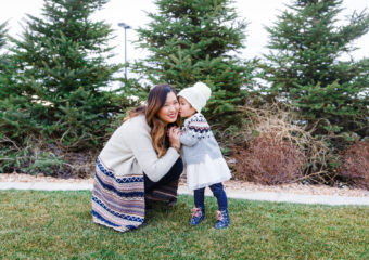 Mommy and Me Style: Fair Isle Sweaters
